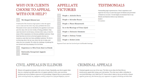 Jaleel Law Appeals